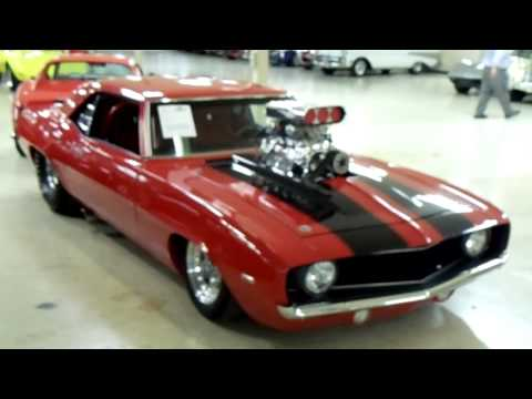 1969 Chevrolet Camaro Prostreet Supercharged Hot Rod