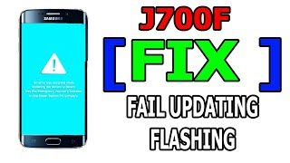 FIX SAMSUNG 'An Error Has Occurred While Updating The Device