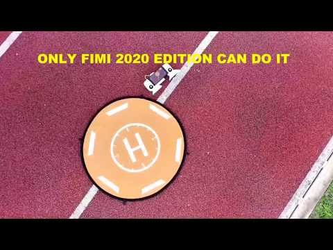 PRECISION LANDING TEST ONLY FIMI X8 SE 2020 EDITION CAN DO IT