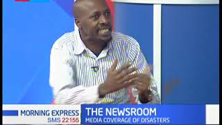 The NewsRoom:Media coverage of disasters, journalists need to be sensitive