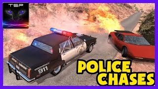 BeamNG drive - Police Chases / Brutality - CRASHES & FAILS Compilation [24.Feb.2017]