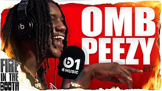 OMB Peezy - Fire In The Booth
