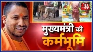 Exclusive: Yogi Adityanath's First Visit To Gorakhpur Matt After Becoming CM Of UP