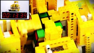 The Amazing ARM Powered Android Speedcuber