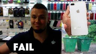 Купил iPhone 8 plus, поковырял SIM-лоток и потерял 52000₽ !!!