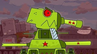 HE MONSTER - clip Cartoons about tanks