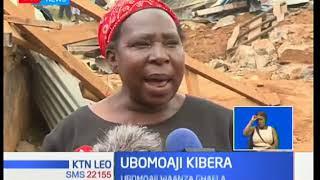 Wakazi wa Kibera wasema serikali imewashtua katika ubomozi