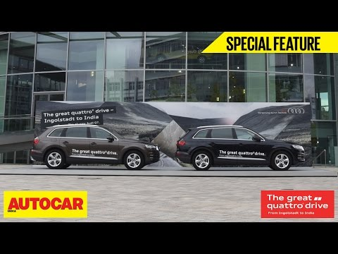 Great Quattro Drive | Webisode 01 | The Adventure Begins | Autocar India