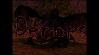 Httyd Toothless Tribute | Demons