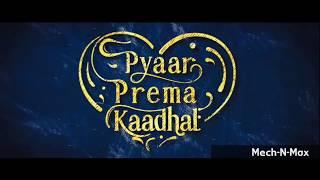 High On Love   Single | Pyaar Prema Kaadhal | Yuvan Shankar Raja | Sid Sriram | Niranjan Bharathi