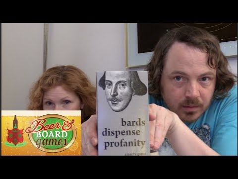 Bards Dispense Profanity (Shakespearean Cards Against Humanity) - Beer and Board Games