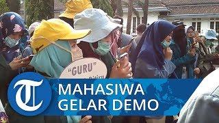 Mahasiswa Tuntut Kesejahteraan hingga Perlindungan Keamanan untuk Guru ke Presiden Jokowi