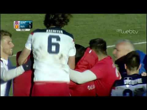 Football League:  ΔΙΑΓΟΡΑΣ ΡΟΔΟΥ – ΙΑΛΥΣΟΣ   | ΓΚΟΛ 2-1 | 09/02/2020 | ΕΡΤ