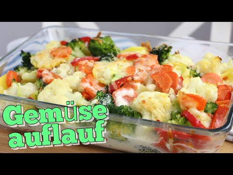 Bunter Gemüseauflauf | Immer eine gute IDEE! | YUMMY | Einfach & lecker #Gemüse
