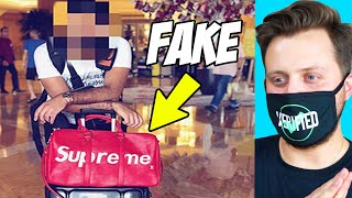 This Youtuber Can't Stop Flexing Fake Stuff *EXPOSED*