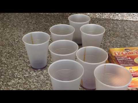 Como hacer Un flan de caja