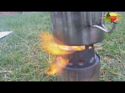 Wie wichtig ist der Windschutz bei einem Kocher - How important is the draft shield on a stove