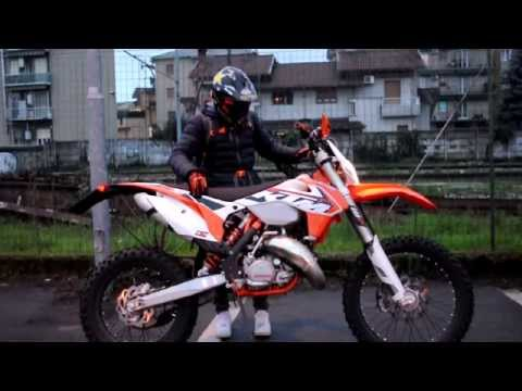 KTM EXC 125 2015 [sound + on board]