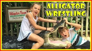 WHAT HAPPENED AT THE ALLIGATOR FARM?😱   We Are The Davises