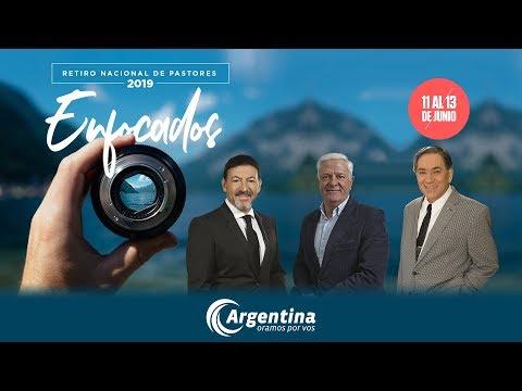 Retiro Nacional de Pastores 2019 | Invitación Jorge Sennewald, Osvaldo Carnival, Pedro Ibarra