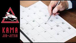 How Many Days a Week Should you Train Jiu-Jitsu? - Kama Vlog