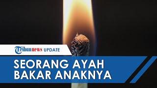 Ayah di Aceh Utara Bakar Anaknya yang Tunawicara Pakai Bara Api dan Daun Kelapa Kering