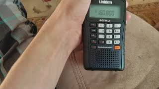 My programmed railroad frequencies on the Uniden Bearcat BC75XLT