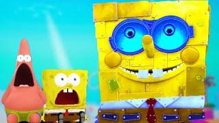 SpongeBob SquarePants Battle for Bikini Bottom Rehydrated - Ending Cutscenes + Final Boss [Switch]
