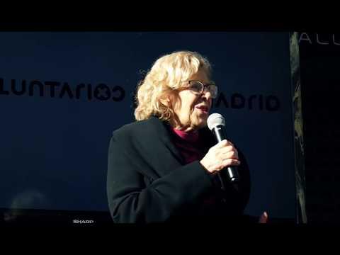 Flashmob con la Alcaldesa M. Carmena