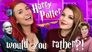 Harry Potter WOULD YOU RATHER?! ft. Cherry Wallis