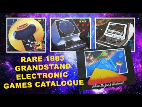 Rare Grandstand Electronic Games Catalogue from 1983