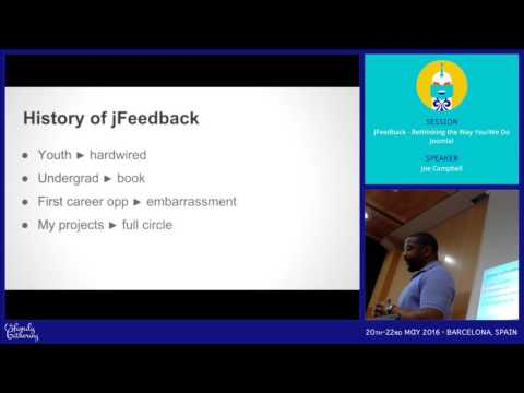 JAB16 - JFeedback - Rethinking the Way You/We Do Joomla!
