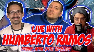 LIVE Interview With HUMBERTO RAMOS | Spider-Man | Strange Academy | Crimson