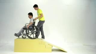 Como utilizar la silla de ruedas
