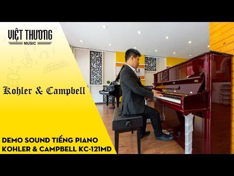 Kohler & Campbell KC-121MD Demo chất âm của đàn piano