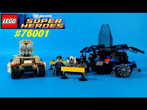 Vidéo LEGO DC Comics Super Heroes 76001 : Batman vs Bane : La course poursuite
