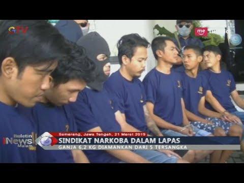 BNN Jawa Tengah Bongkar Sindikat Narkoba Narapidana, 5 Tersangka Diciduk Petugas - BIM 21/03