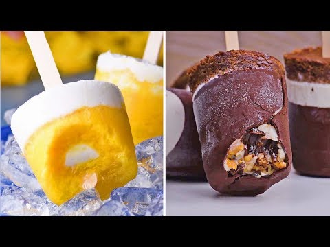 Fun Frozen Treats To Beat The Heat | Ice Cream & Popsicles | Summer 2018 Recipes By So Yummy Mp3