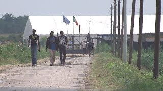 ITV News sees how Italy is struggling to cope with migrant crisis