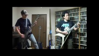 ANTHRAX - Be All, End All (bass & guitar cover)