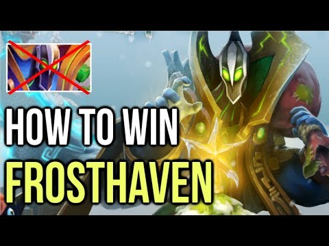 HOW TO WIN FROSTHAVEN EVENT DOTA 2 - Kill Last Boss Rubick | Easy Strategy Guide