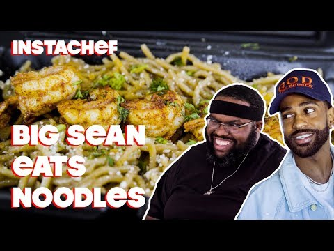 Big Sean Discovers His Love of Seafood in LA || InstaChef