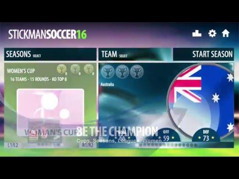 Vidéo Stickman Soccer 2016