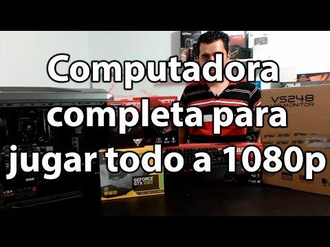 La computadora completa para jugar todo a 1080p en ultra por varios años   Proto HW