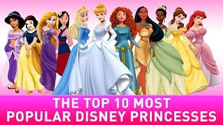 Gambar cover 10 Most Popular Disney Princess List
