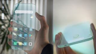 The First Transparent Phone 2019│Introduction Video