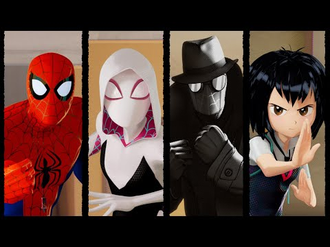 Spider-Man Into the Spider-Verse Promo Clips