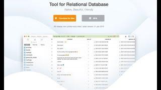 Table Plus Best Relational Database Program (Mysql, Sqlite3, Postgres, Redis, Sequel Server)