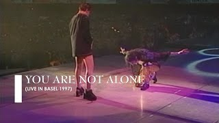 """Michael Jackson - """"You Are Not Alone"""" [live in Basel] (60fps)"""