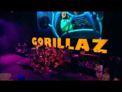 Gorillaz - On Melancholy Hill (Live @ Glastonbury 2010)